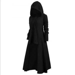 Women's Cosplay Hooded Dress Medieval Gothic Elega